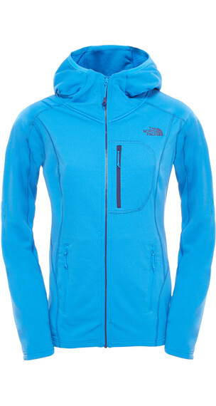 The North Face W's Incipent Hooded Jacket Clear Lake Blue